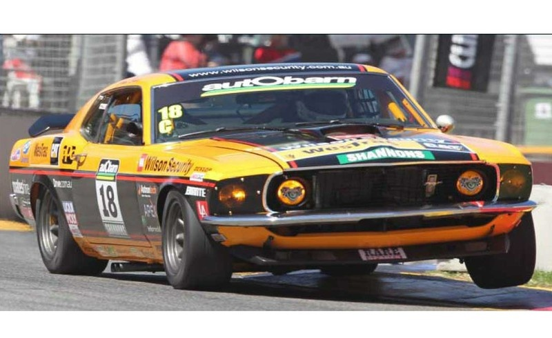 Scalextric Ford Mustang Boss 302 1970 #18 2011