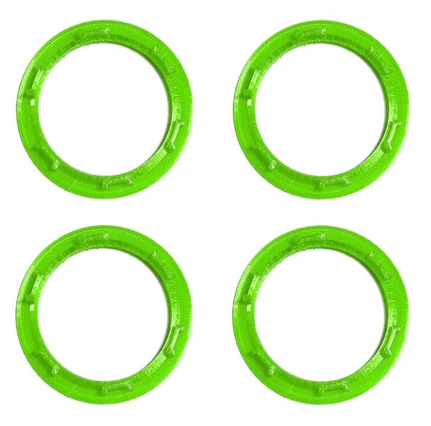 JS-Parts Felgenringe ultraflex für Traxxas Maxx grün