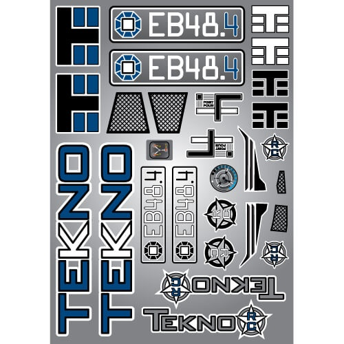 Tekno RC TKR8246 - Decal Sheet (EB48.4)