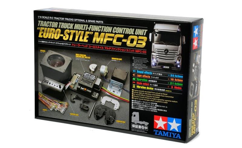 Tamiya RC Truck-Multifunktionseinheit MFC-03 1:14