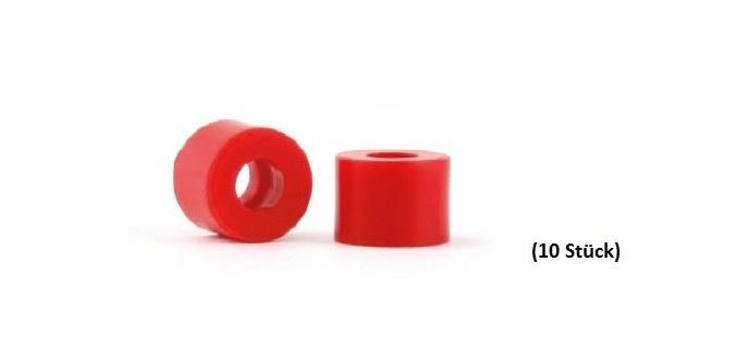 NSR Axle Spacers/Achsdistanzen 3/32 4mm Plastic (10)