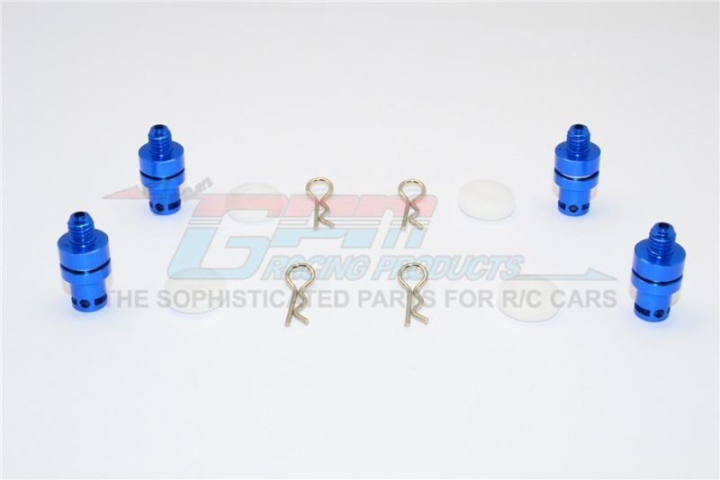 GPM aluminum front & rear magnet body post - 1 Set for