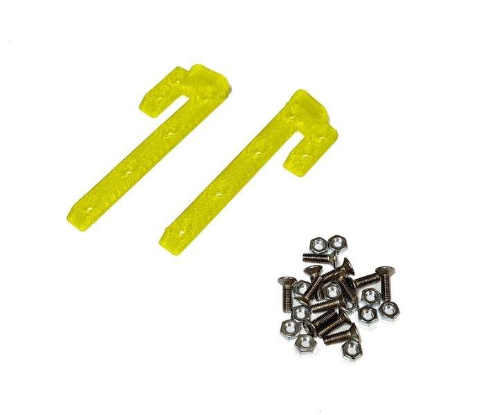 JS-Parts ultraflex Dachskid 70x20mm für 1/8 gelb