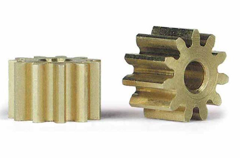 2x Slot.It Motorritzel PAS 6,5mm 11 Zähne für 2,00mm,