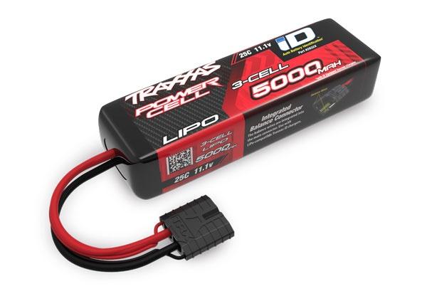 Traxxas Lipo 5000mAh 11,1V 3-Zellen 25C mit ID-Stecker