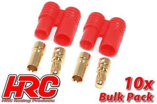 HRC Racing Stecker - Gold - HXT3.5 (10 Stk.)