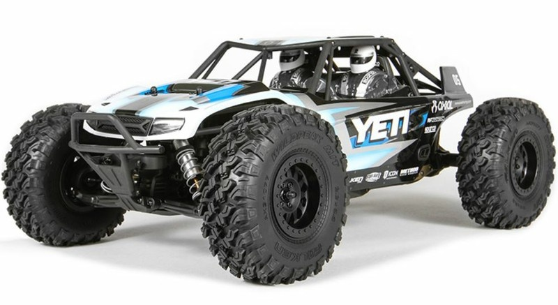 Axial Yeti Electric Offroad 4WD Rock Racer Kit 1:10