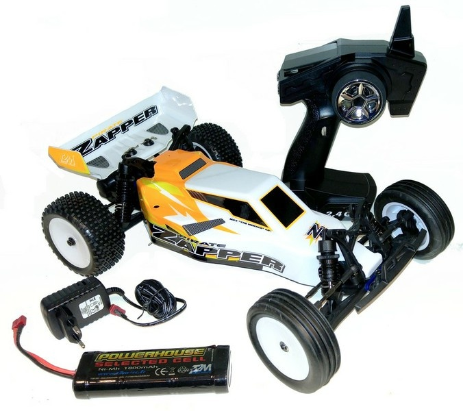 T2M Pirate Zapper Brushed Elektro Buggy 2.4GHz RTR 1:10