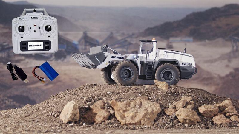 Auslauf - FM-electrics Liebherr Metall-Radlader Mining