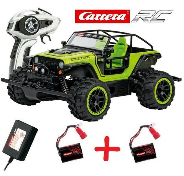 Carrera RC Profi JEEP Trailcat 4WD 2.4GHz RTR 1:18