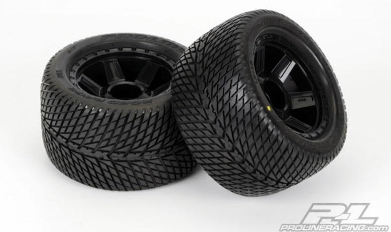 Pro-Line Road Rage 3.8 Street Reifen+Felgen verklebt