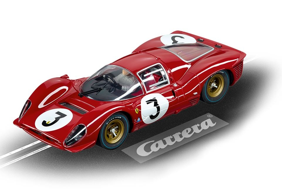 Carrera Digital 124 Ferrari 330P4 No.3, Monza 1967