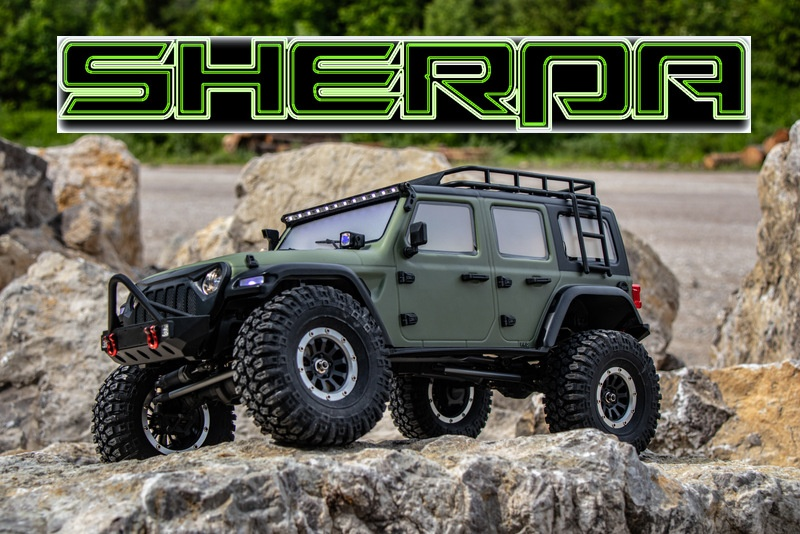 Absima 1:10 EP Crawler CR3.4 SHERPA RTR - olive