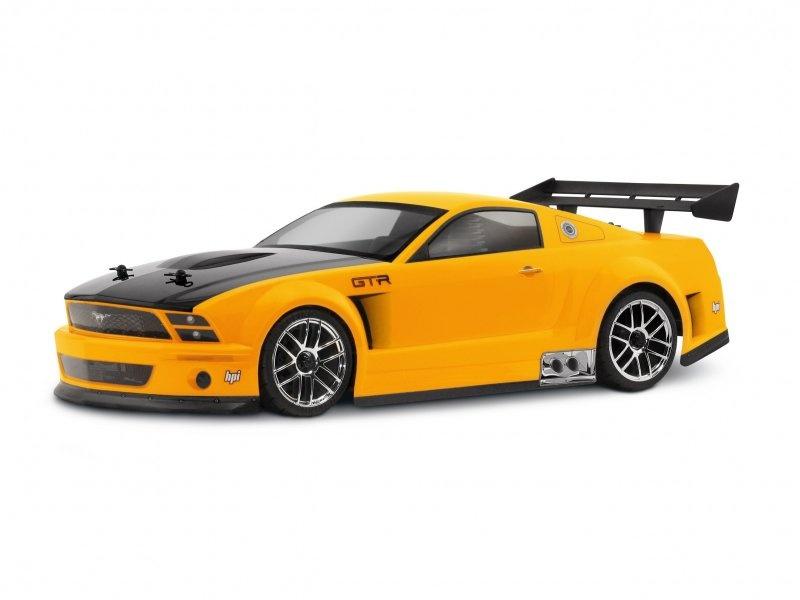 HPI Ford Mustang GT-R Karosserie (200mm/WB255mm) 1:10