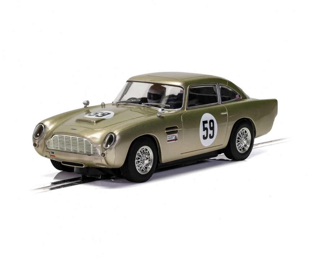 Scalextric 1:32 Aston Martin DB5 White Gold AMOC 2019 HD