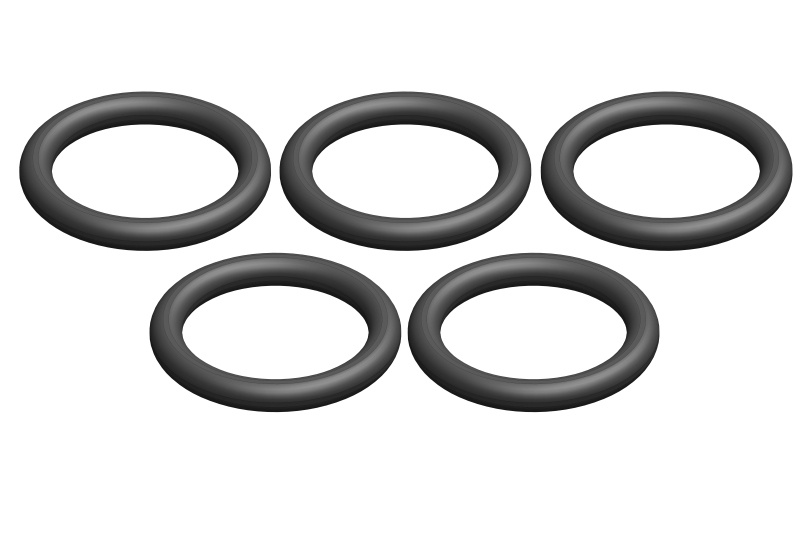 Team Corally O-Ring - Silicone - 9x12mm - 5 pcs