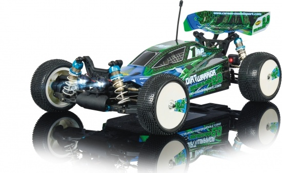 1:10 Dirt Warrior Brushless 2.0 100% RTR