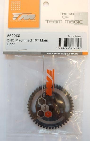 Team Magic Option Part - SETH - CNC Machined 46T Main Gear