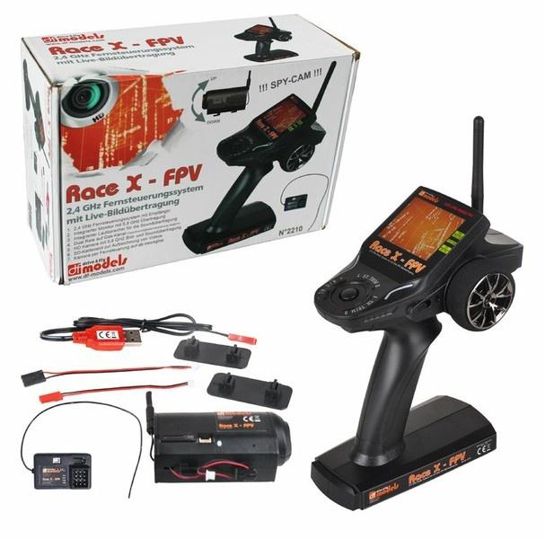 DF-Models Race X - FPV 2.4GHz Fernsteuerung