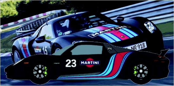 Carrera Digital 132 Porsche 918 Spyder Martini Racing