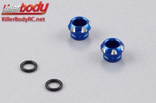 Killerbody CNC Aluminium - LED Lichthalter - für 5mm LED -