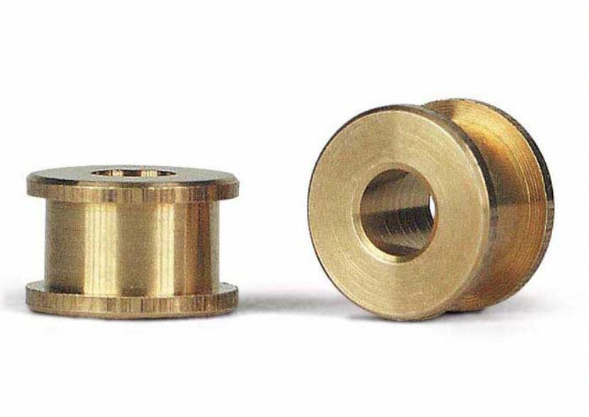 2x Slot.it Achslager PAS aus Bronze 4,9mm  für Achse 2,38