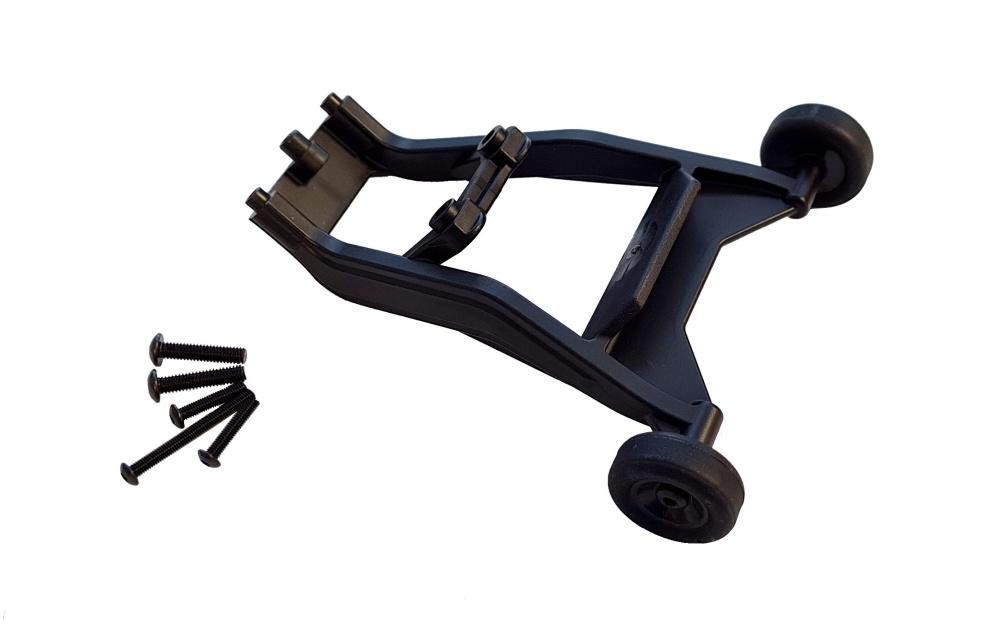 Traxxas Wheelie bar (montiert)