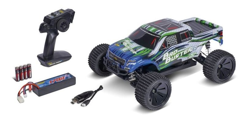 Carson 1:10 Bad Buster 2.0 4WD X10 2.4G 100%RTR 1:10