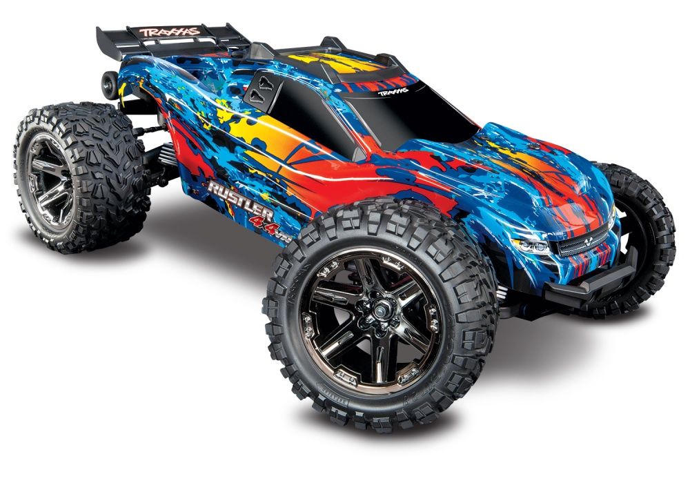 Traxxas Rustler 4x4 Stadium Truck Brushless VXL 2.4GHz