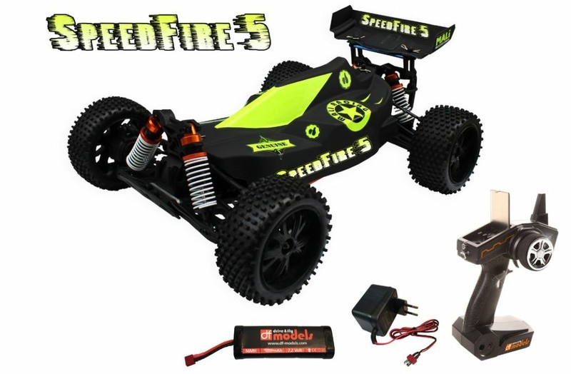 DF Models SpeedFire 5 1:10XL Line 4WD Buggy 2.4GHz RTR 1:10