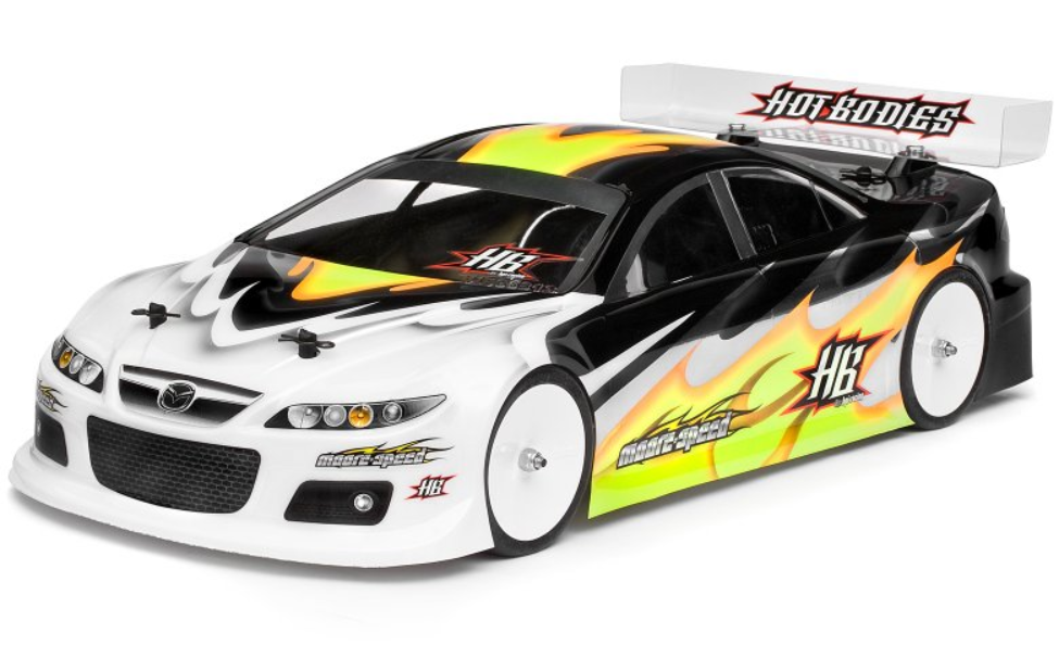 HPI/Hot Bodies Moore-Speed Mazda 6 MPS Race Karosserie 190mm
