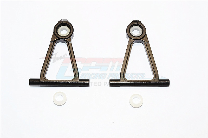 GPM alloy front upper arm set - 1 PR for Tamiya TT-01