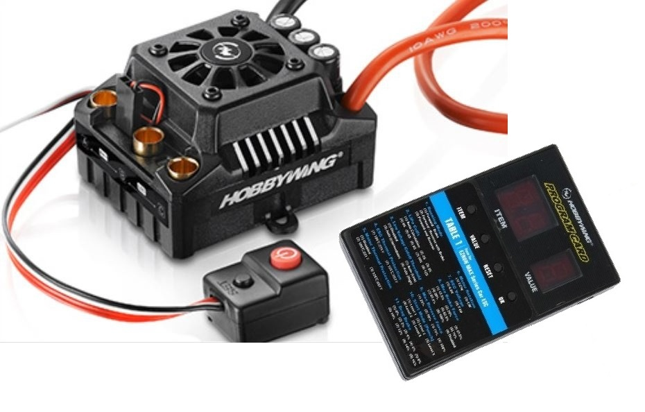 Hobbywing Ezrun MAX8 TRX Regler Sensorless 150 Amp, 3-6sLipo