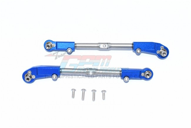 GPM ALUMINUM+STAINLESS STEEL ADJUSTABLE FRONT STEERING