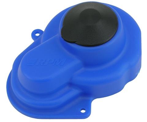 RPM Getriebe-Abdeckung NEU blau TRX Rustler, Stampede, ...