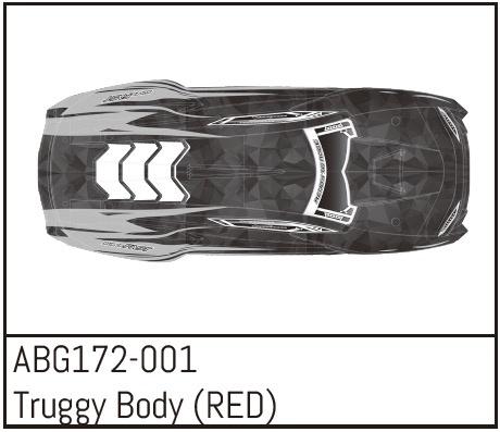 Absima Truggy Body (RED)