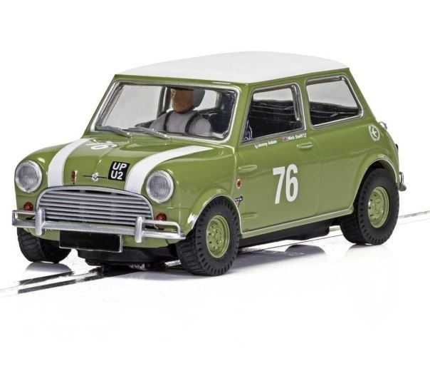 Scalextric 1:32 Austin Mini Cooper S, Goodwood 2018,