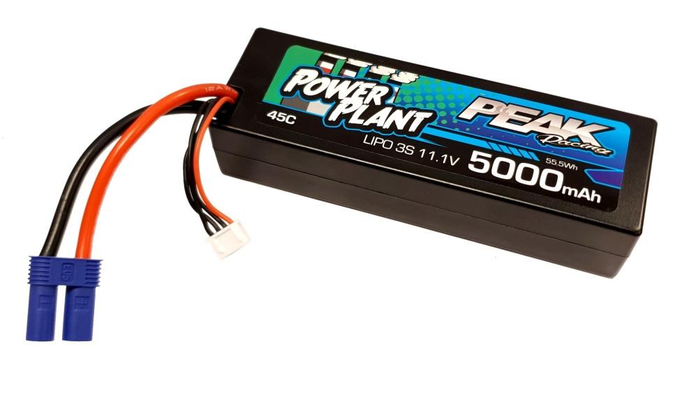 Kyosho Power Plant Peak LiPo 3S 11.1V 5000 45C 12AWG