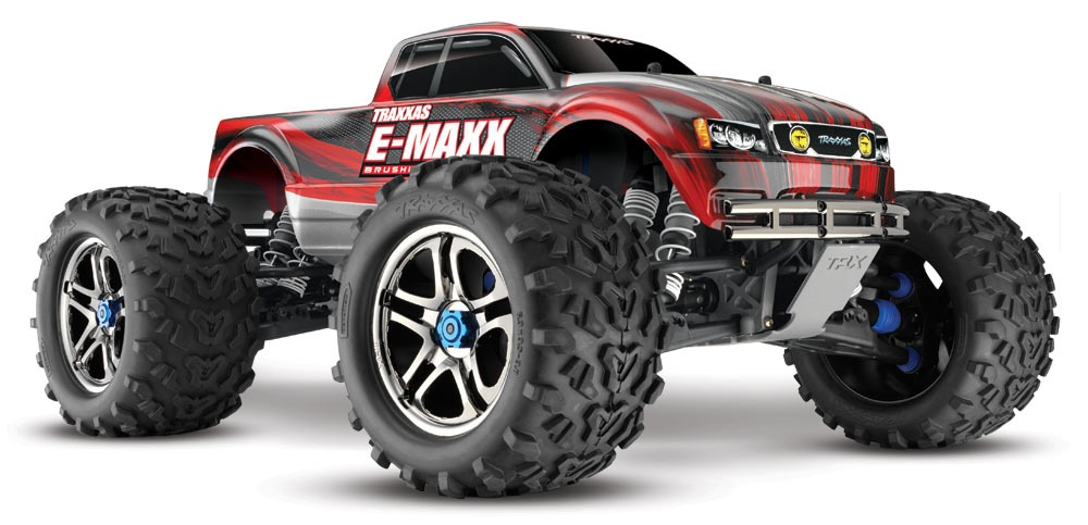 Traxxas E-Maxx brushless Edition 1:10 RTR > MIT TQi 2.4 GHZ<