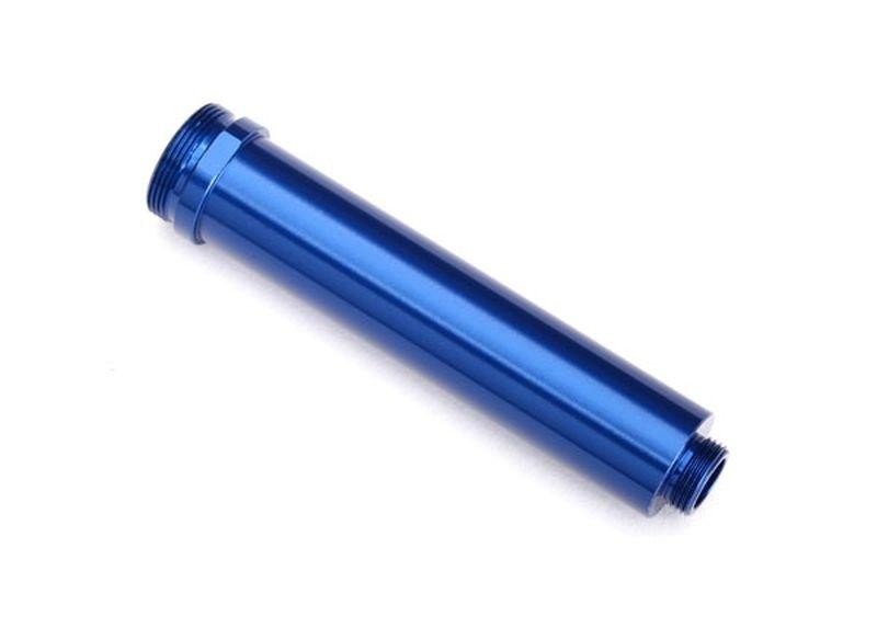 Traxxas Dämpfergehäuse GTR,77mm blau Alu hinten ohne Gewinde