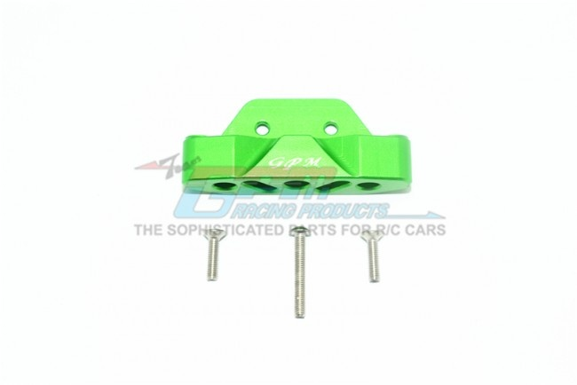 GPM aluminium rear lower suspension mount - 4PC Set for