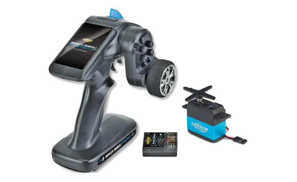 Carson Reflex Wheel PRO 3 2.4GHz + CS5 Servo