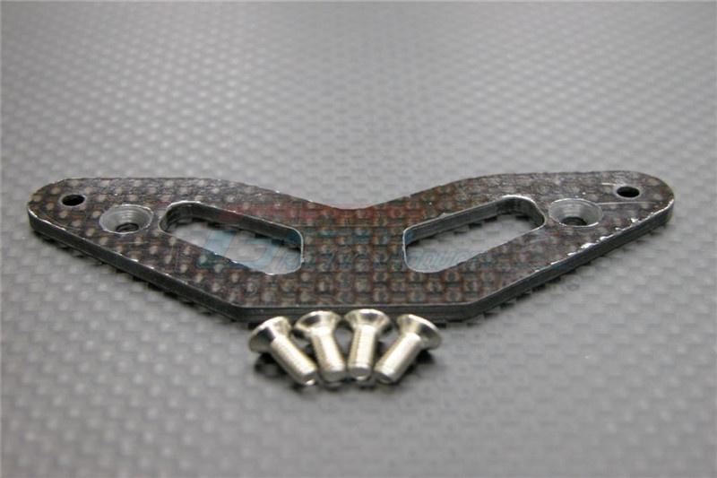 GPM graphite thick 2.5mm upper bumper - 1 PC