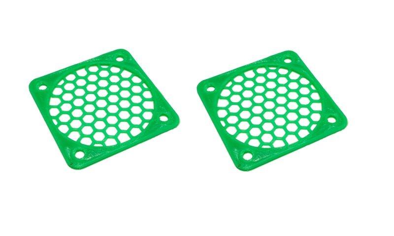 JS-Parts Lüftergitter 50mm / 2 Stück (Set) grün