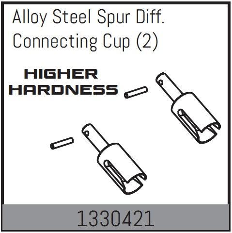 Absima ULTRA-HART Stahl-Mitteldifferentialmitnehmer