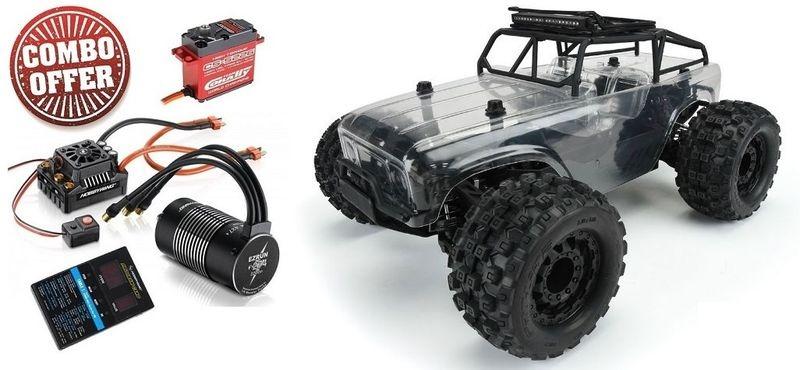 Pro Line Ambush-MT 4X4 m.Trail Cage-Truck Pre-Built Roller