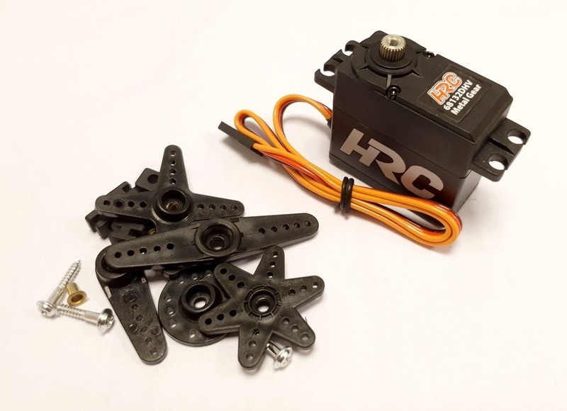 HRC Servo - Digital -  High Voltage 40,2x41x20mm/53g-32kg/cm