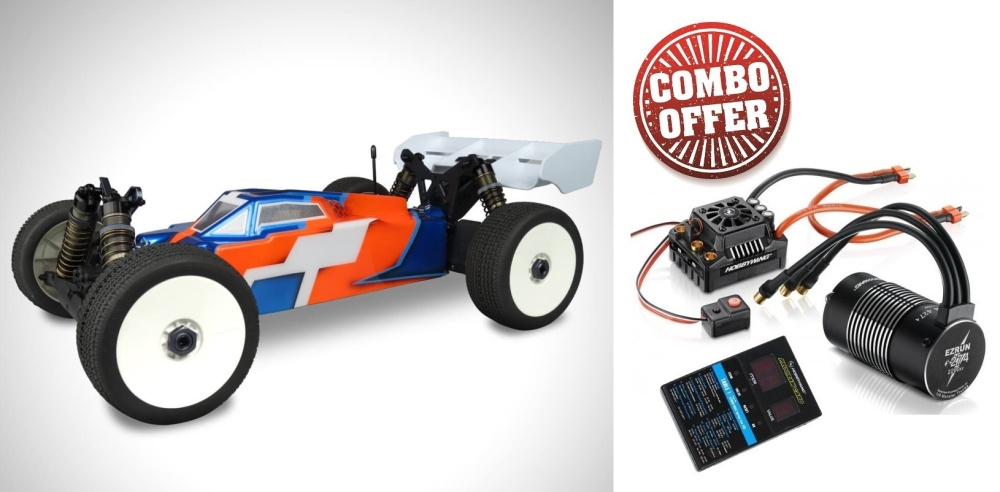 Tekno RC TKR8000 - EB48.4 1/8th Competition Electric Buggy