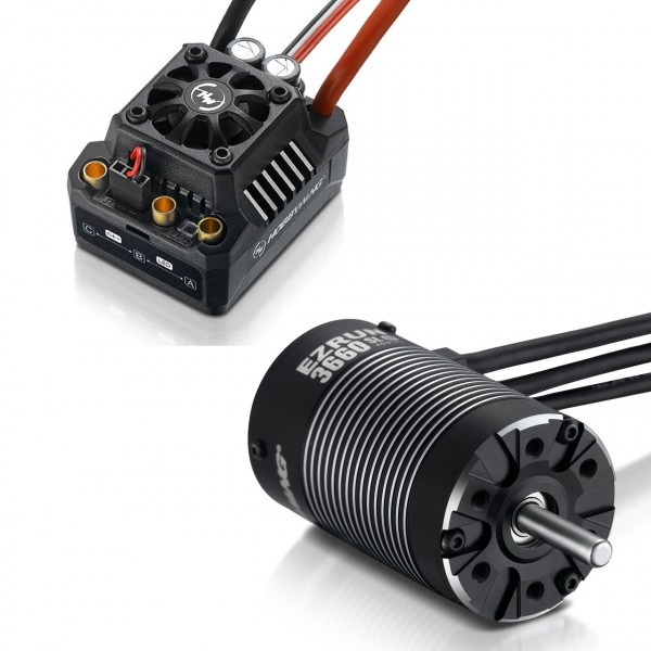 Hobbywing Ezrun MAX10 SCT Combo mit 3660SL-4600kV