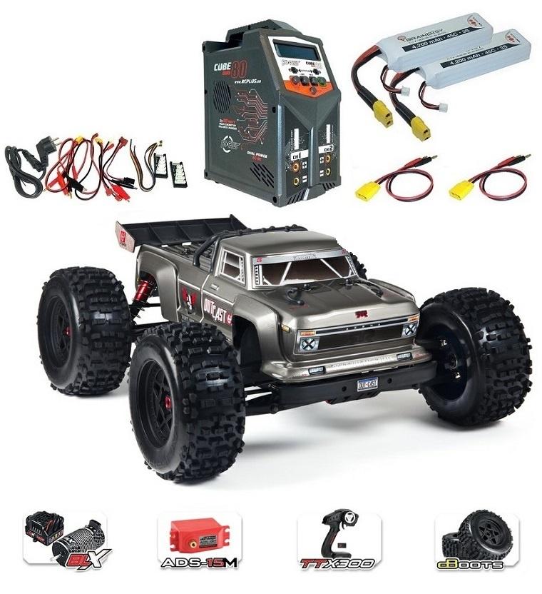 Arrma RC Outcast 6s BLX 4WDSt.Truck 2.4GHz RTR 1:8-SPARSET3-